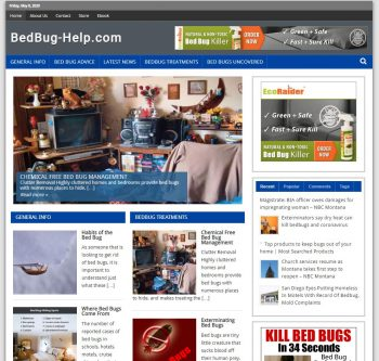 Bedbug-help.com Domain + Website Business