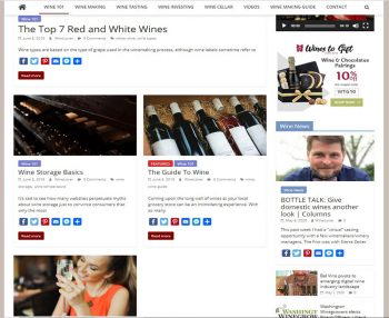 Wine Tips Turnkey Website Business