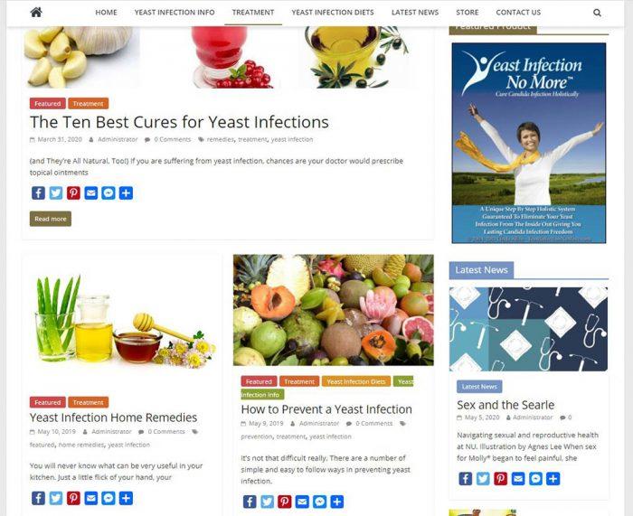 women's health turnkey website