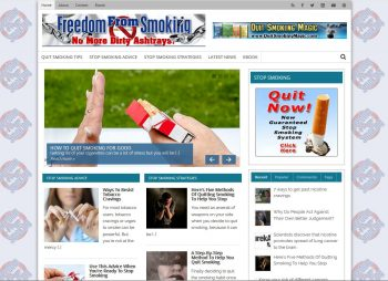 Freedom-From-Smoking.com Turnkey Website Business