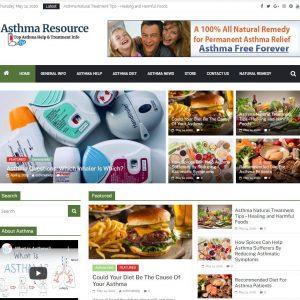 Asthma Turnkey Website Business