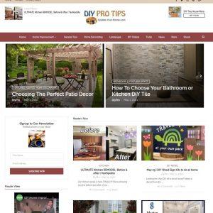 DIY, Home Improvement Turnkey Website