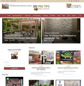 Update-your-home.com Domain + Website Business