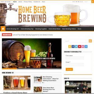 Home Brewing Help Turnkey Website