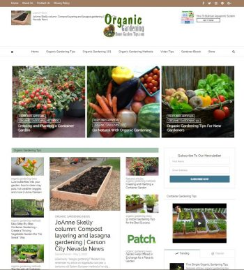 Organic Gardening Tips & Resource Website
